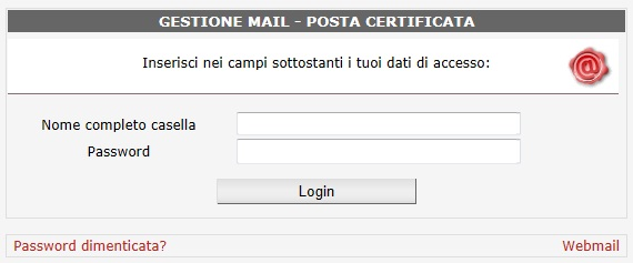 gestione email