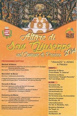 Altare di San Giuseppe 2014