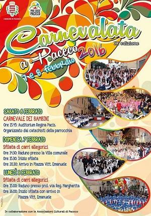 Programma dei festeggiamenti