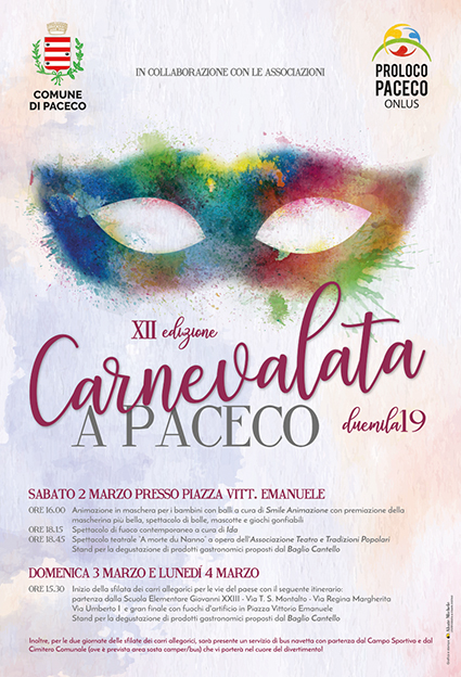 carnevale paceco 2019