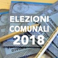 Elezioni Amministrative del 10 Giugno 2018