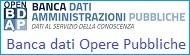BDAP Banca dati opere pubbliche